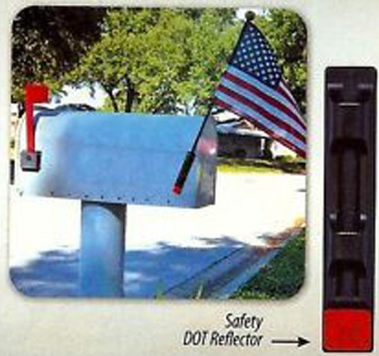 Mailbox Flag Bracket