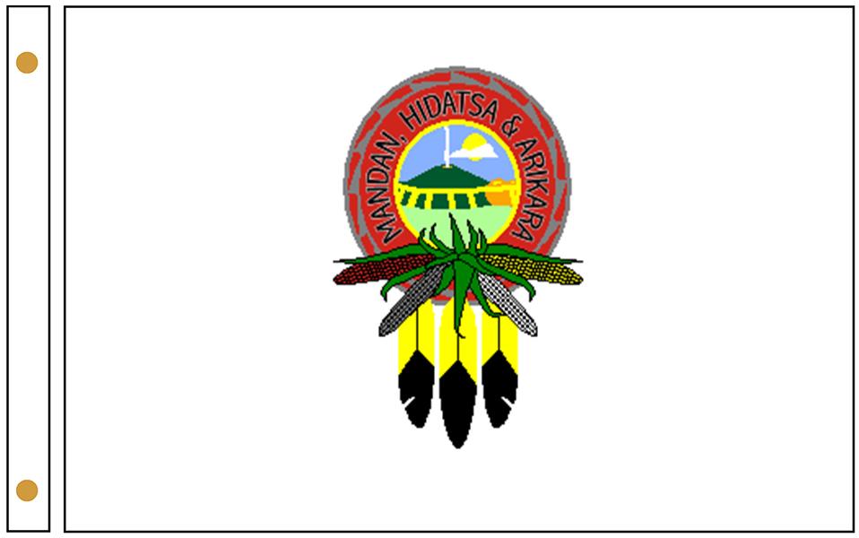 Mandan, Hidatsa & Arikara Nation Flags