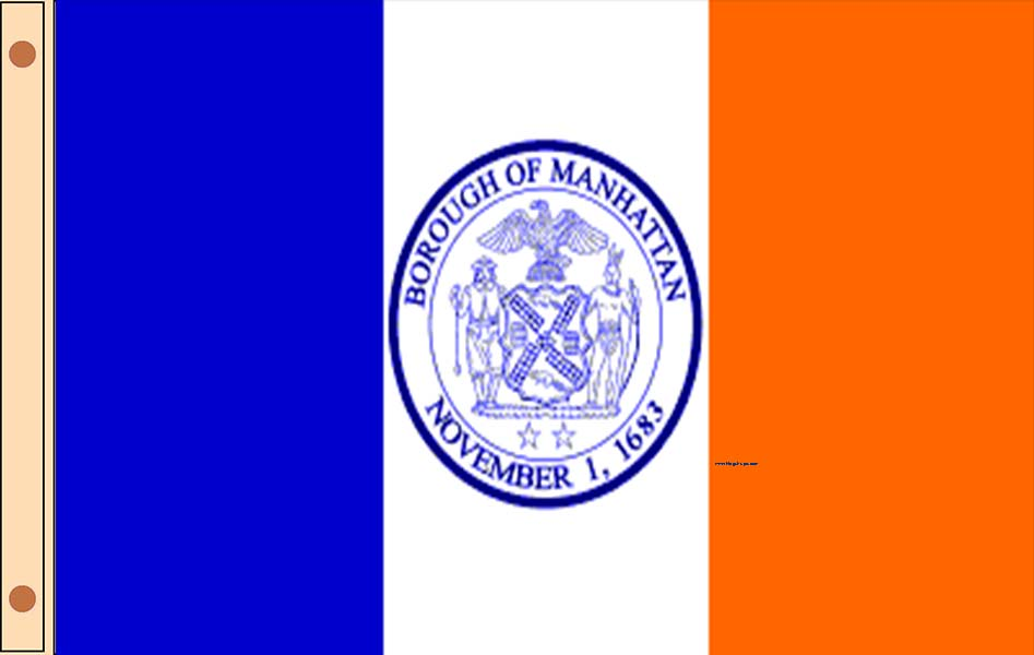 Manhattan Borough Flags