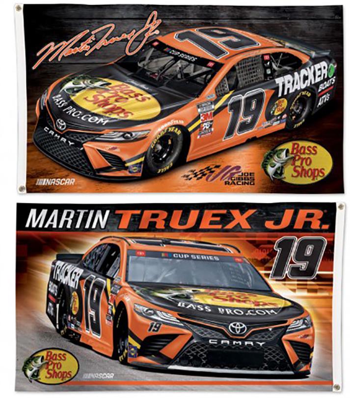 Martin Truex Jr NASCAR Flag