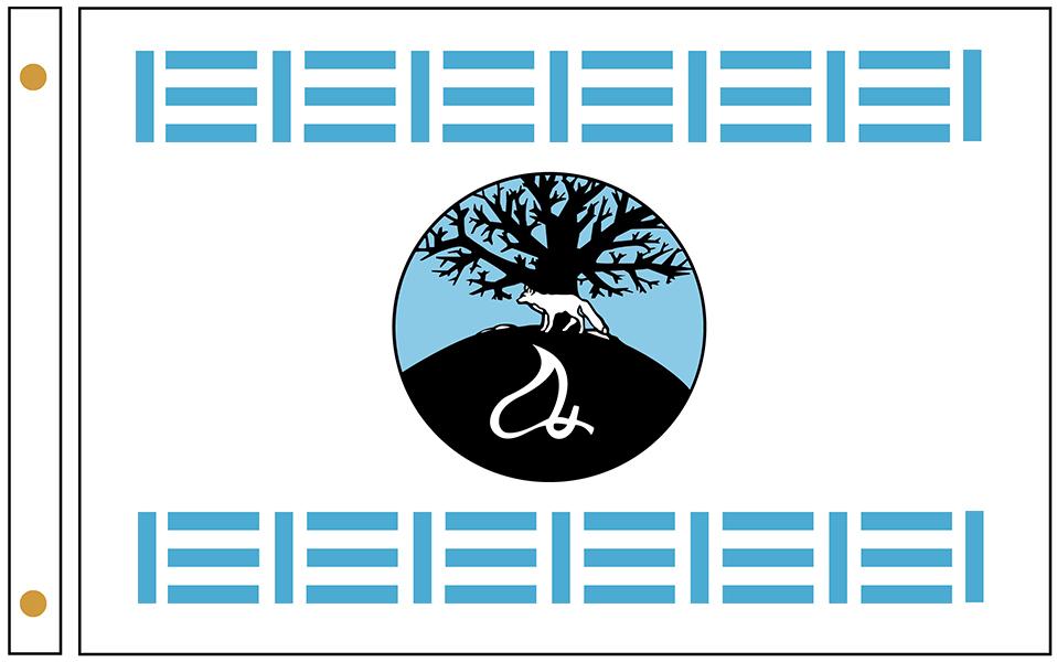 Mashantucket Pequot Tribe Flags