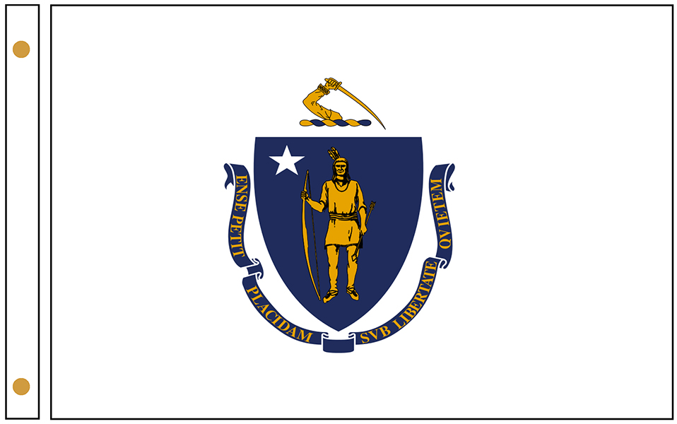 Massachusetts State Flags