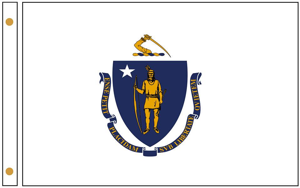 Massachusetts State Flags