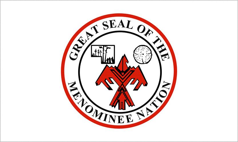 Menominee Tribe Flags