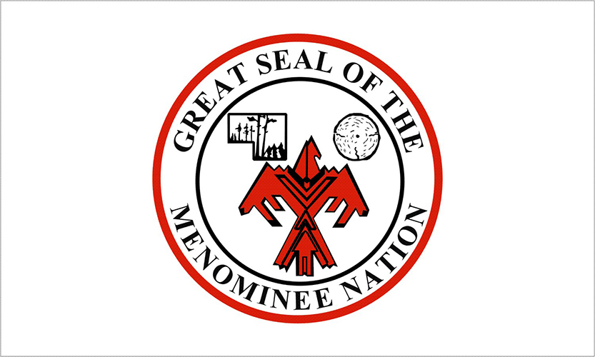 Menominee Tribe Flags