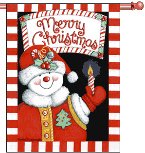 Merry Snowman