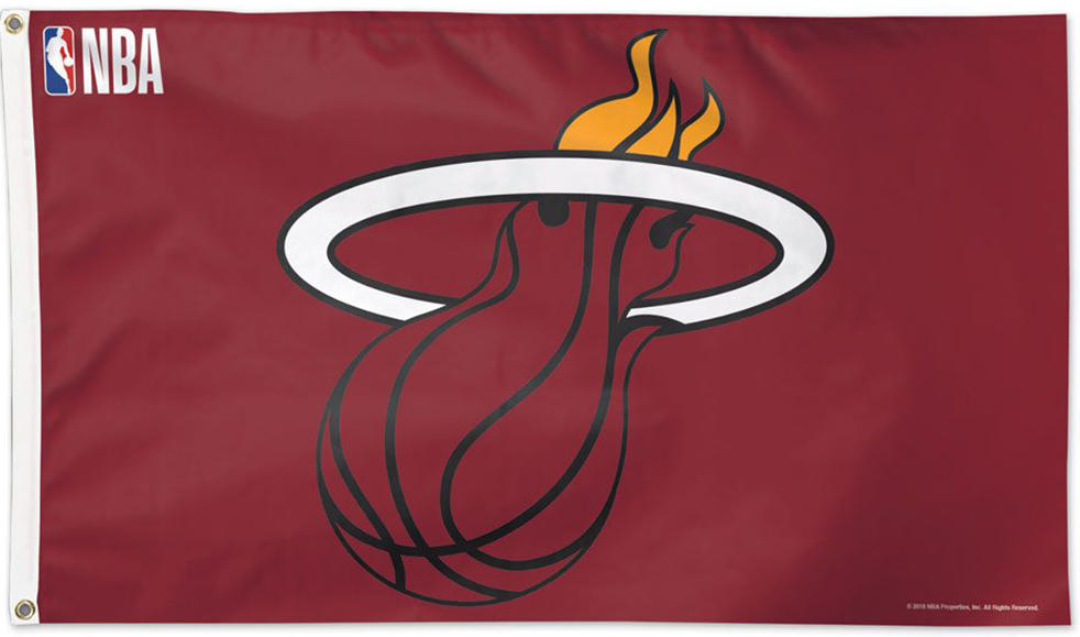 Miami Heat Flags