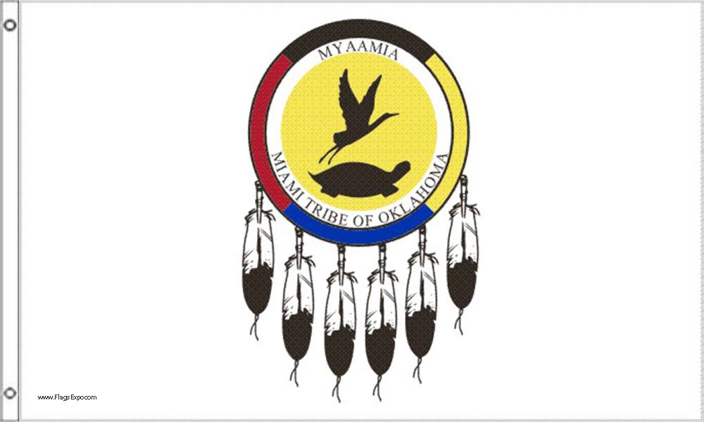 Miami Tribe of Oklahoma Flags