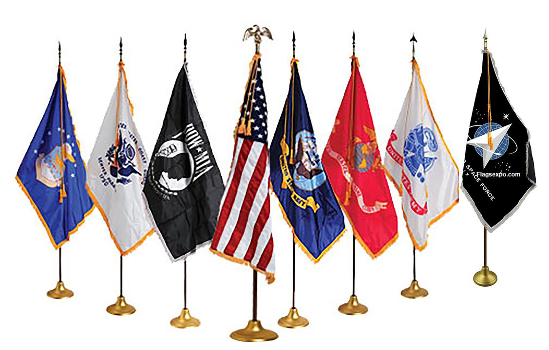 Military Parade Flag Sets
