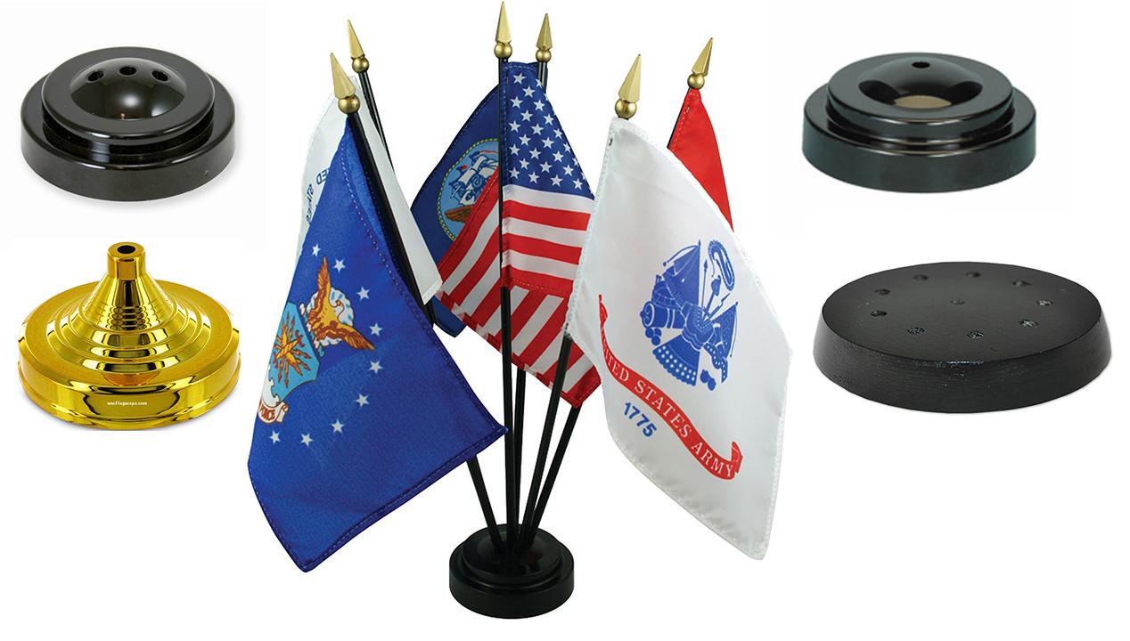 Miniature Flag Bases