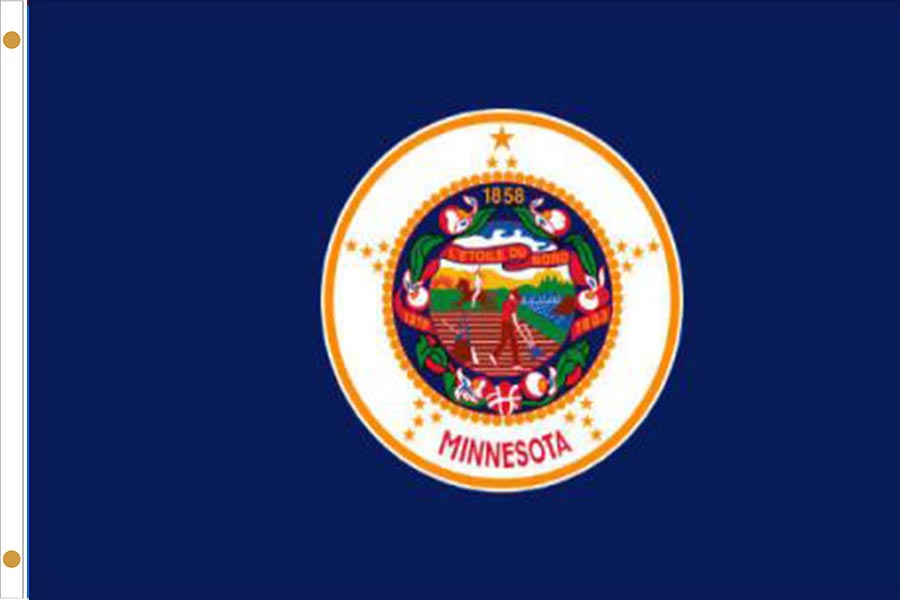 Minnesota State Flags