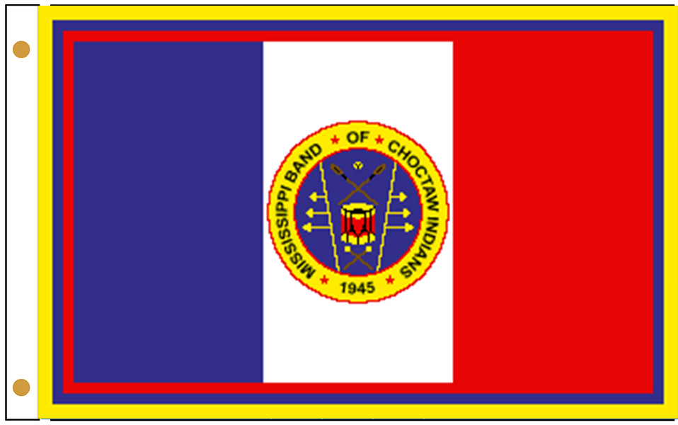 Mississippi Band of Choctaw Indians Flags