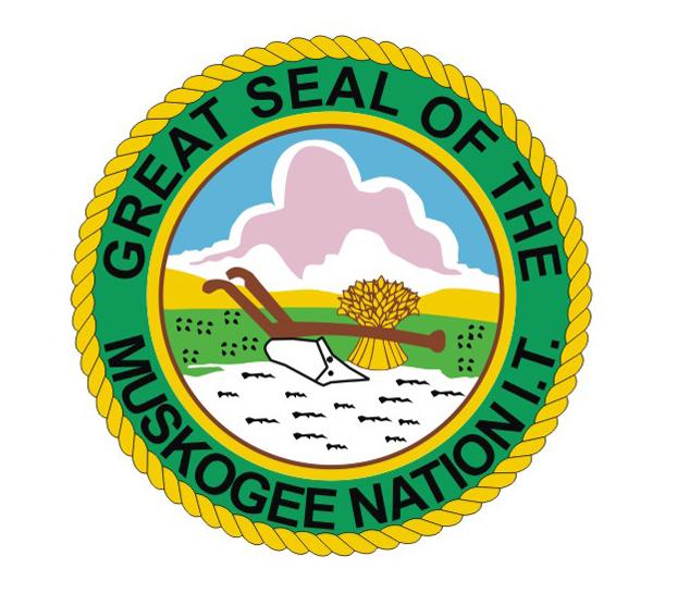 Muscogee Creek Tribe Flags