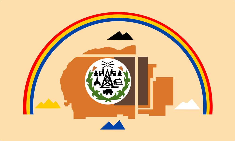 Navajo Tribe Flags