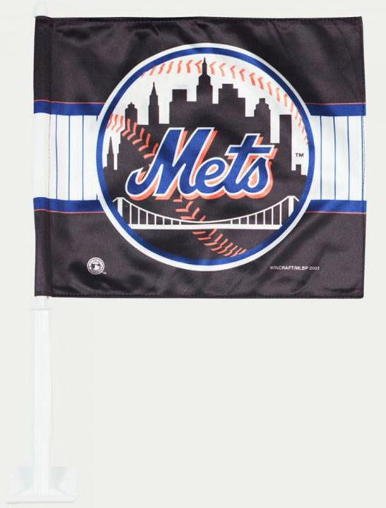 New York Mets Car Flags