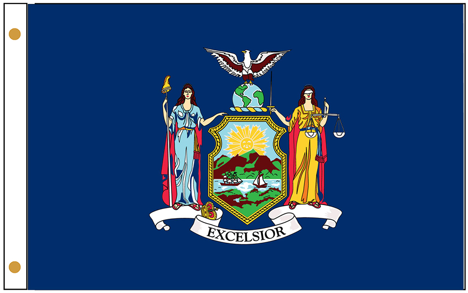 New York State Flags