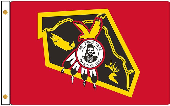 Nez Perce Tribe Flags