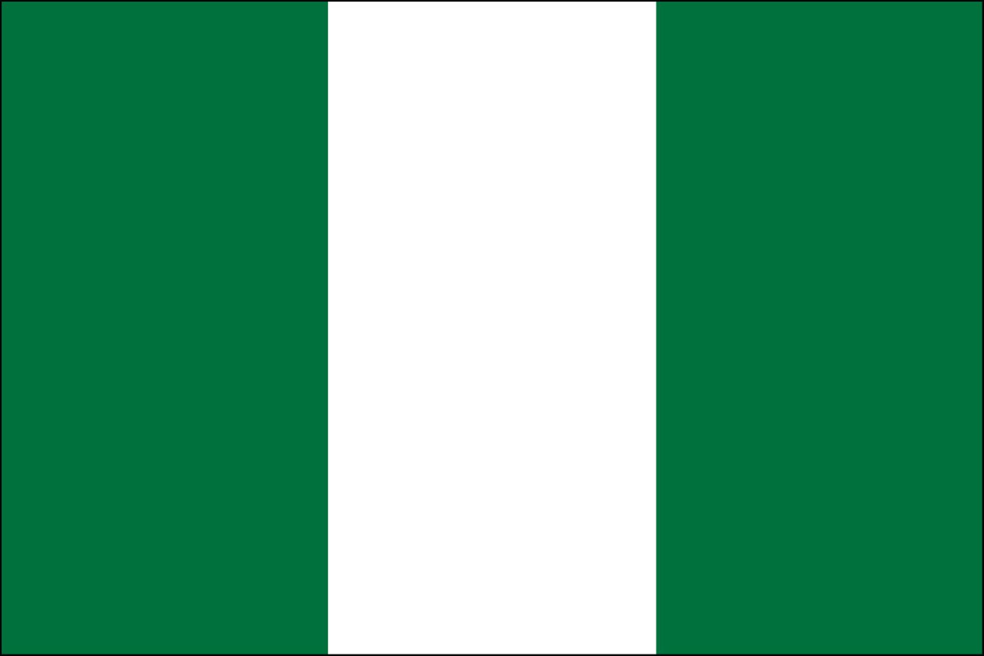 Nigeria Flags