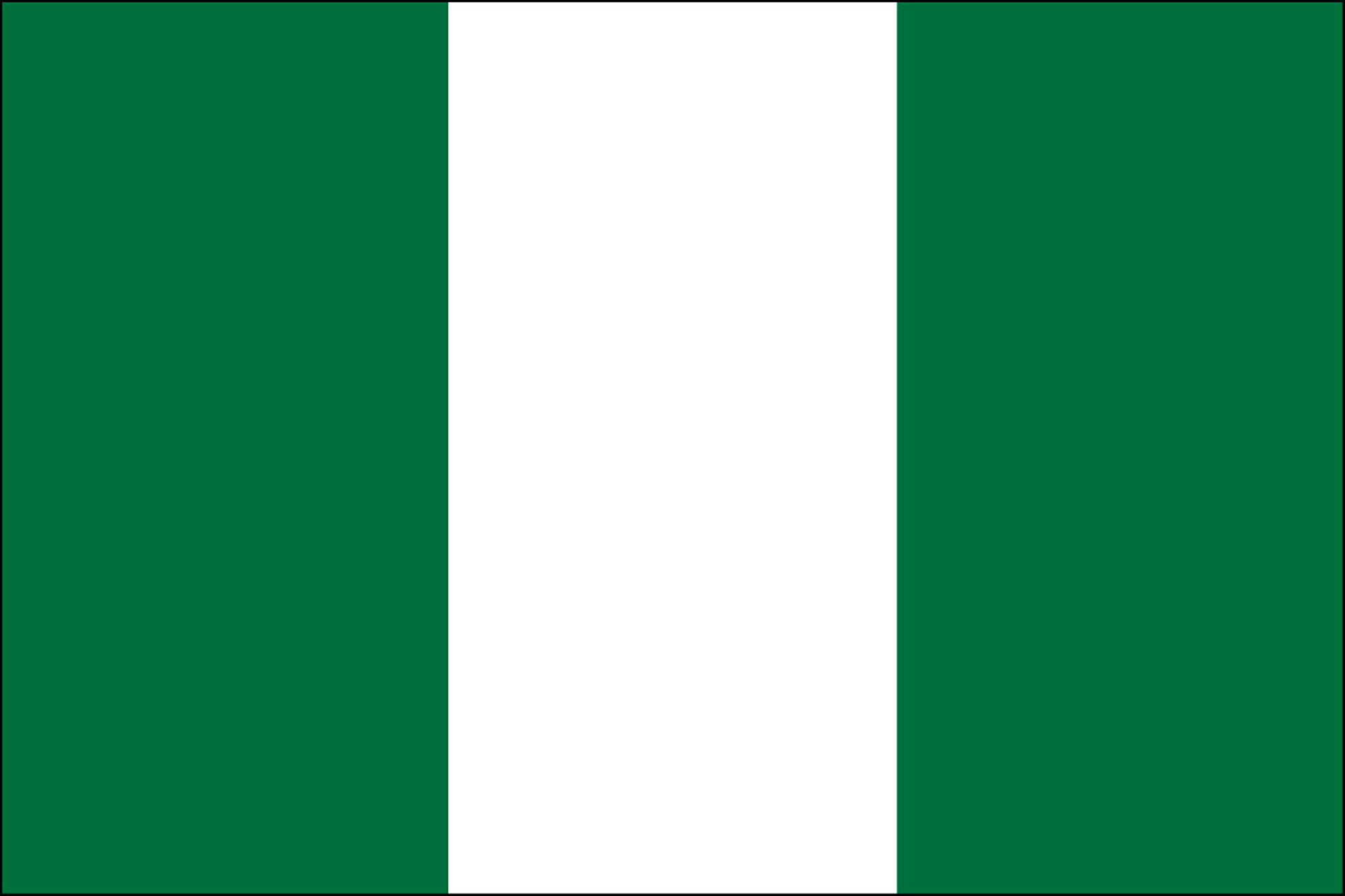 Nigeria Flags