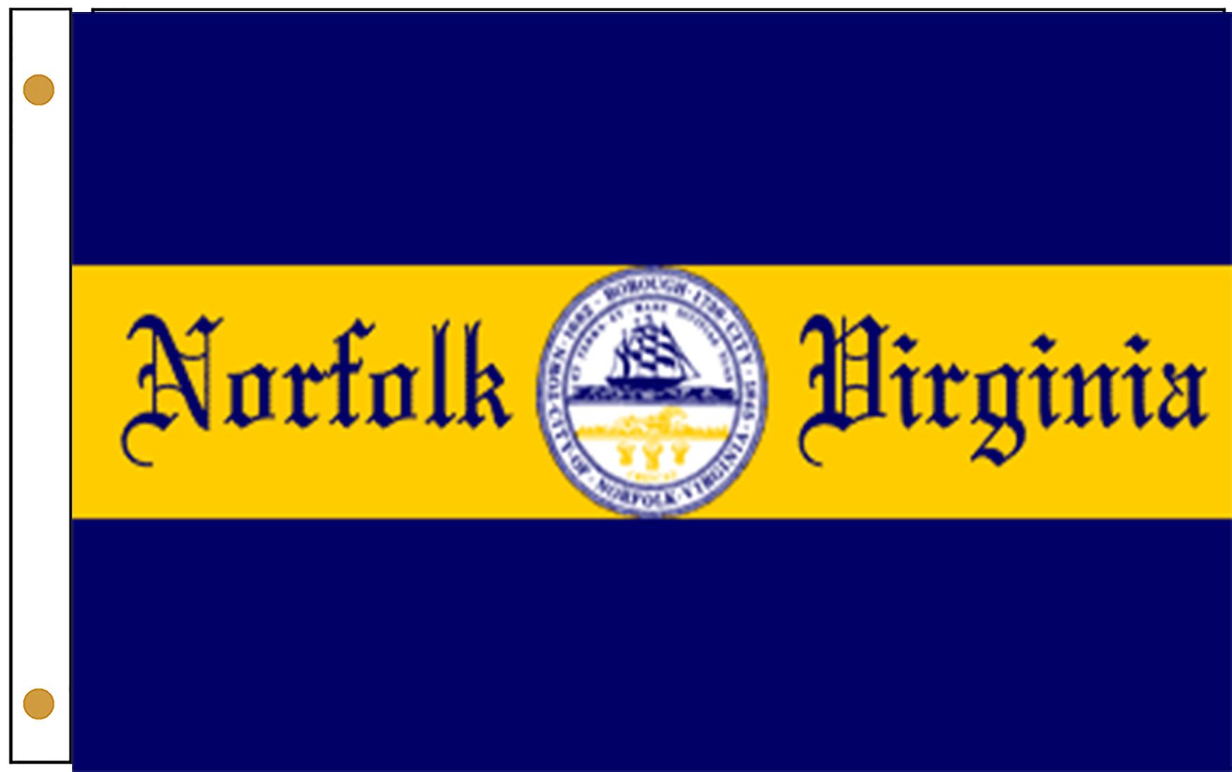 Norfolk VA Flags