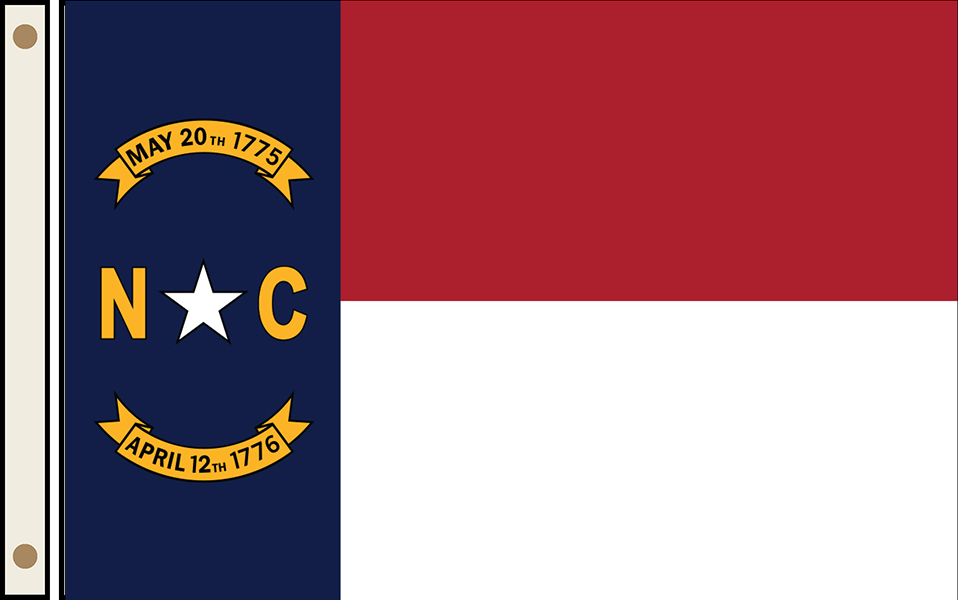 North Carolina State Flags