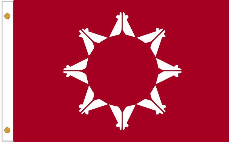 Oglala Lakota Tribe Flags
