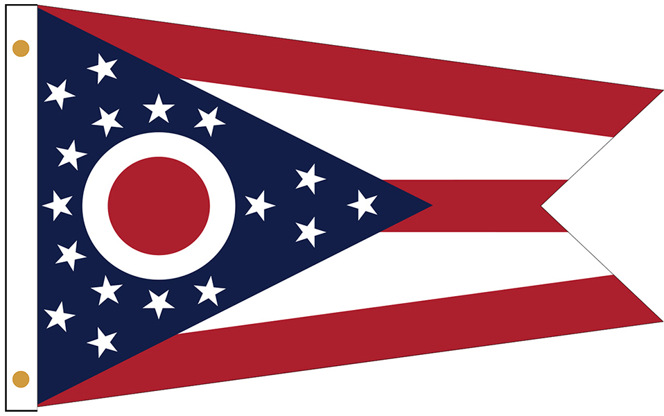 Ohio State Flags