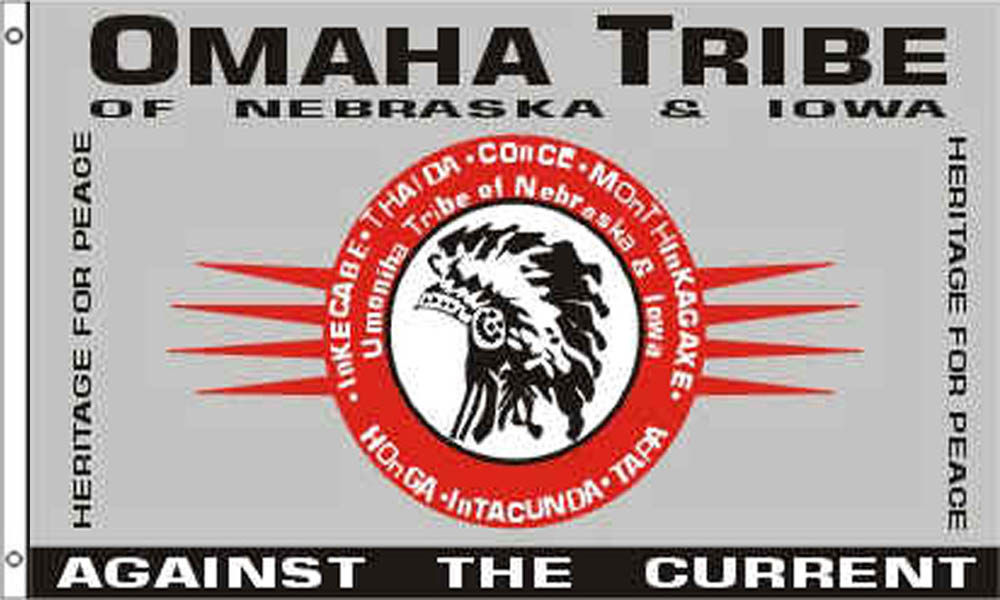 Omaha Tribe Flags