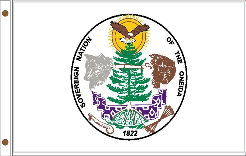 Oneida of Wisconsin Tribe Flags