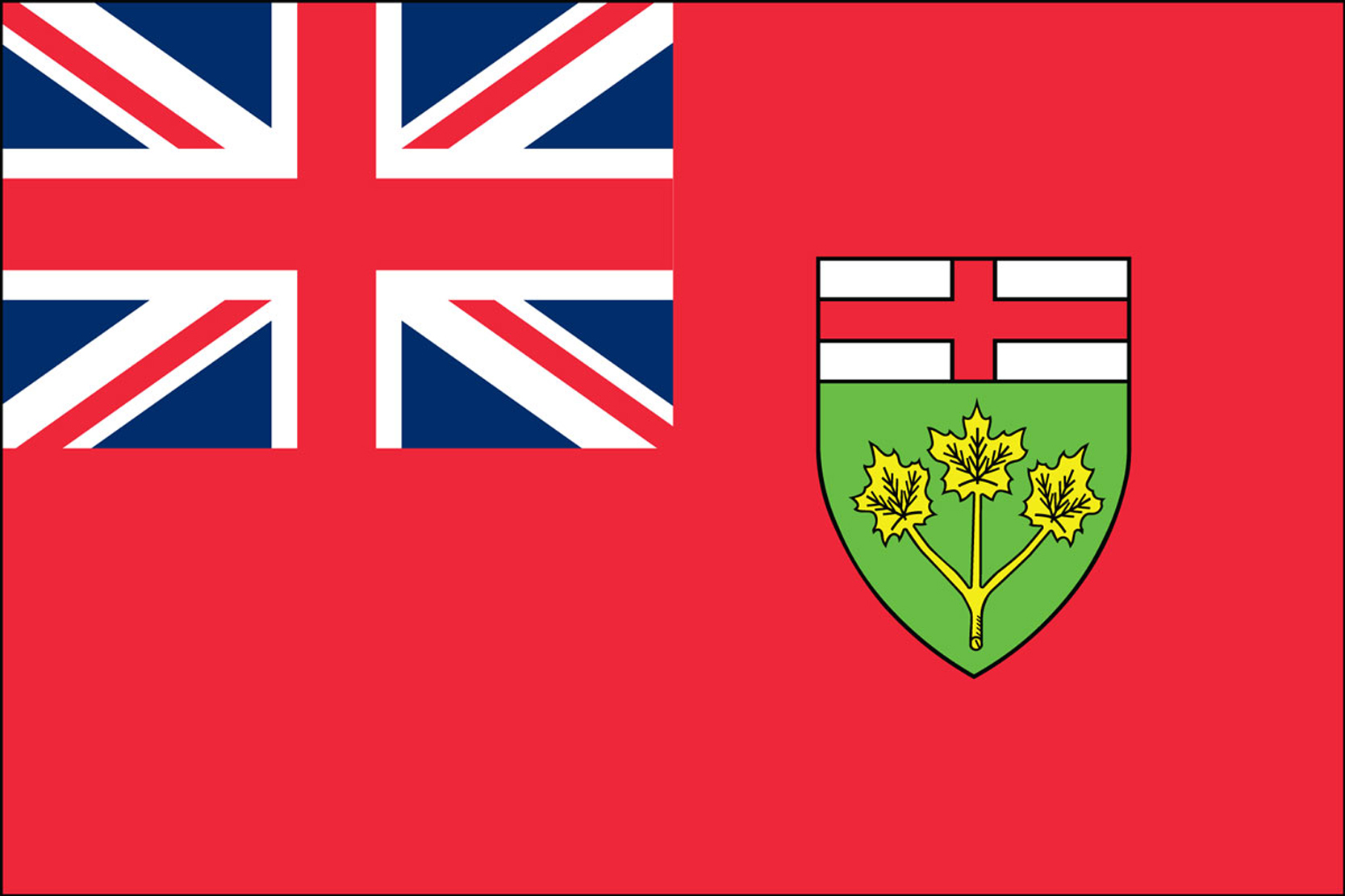 Ontario Official Government Flags