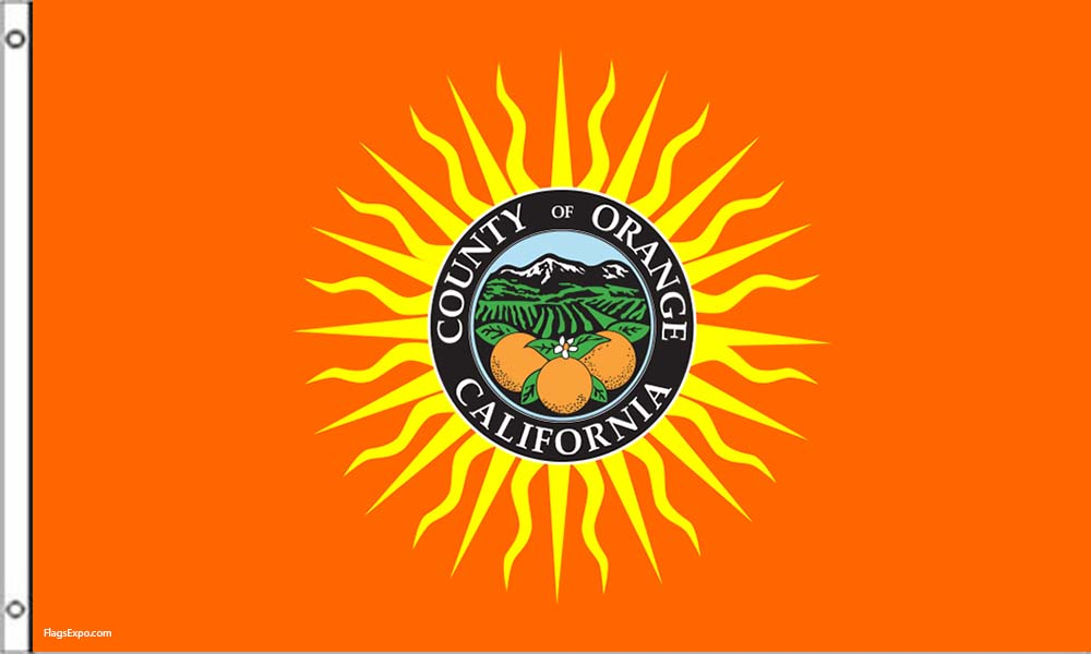 Orange County CA Flags