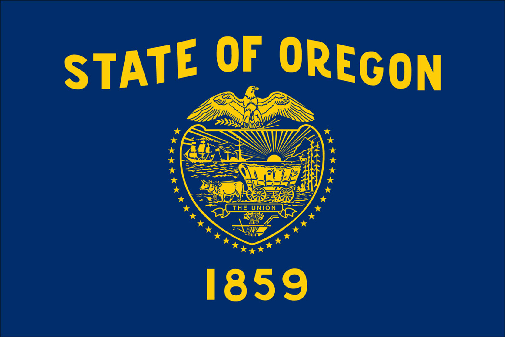 Oregon State Flags