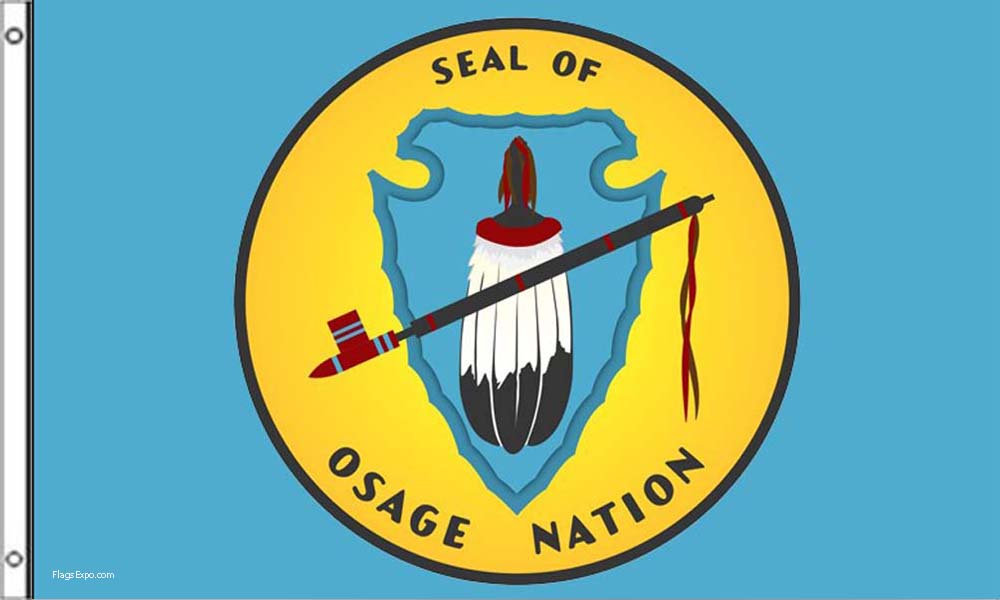 Osage Nation Flags