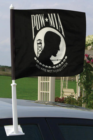 POW MIA Car Flags