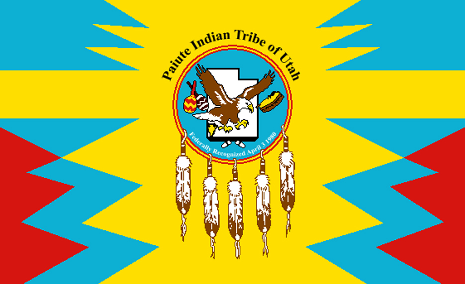 Paiute Tribe Flags
