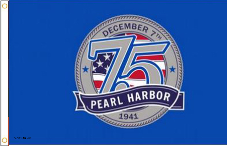 Pearl Harbor Memorial Flag