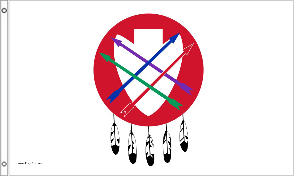 Peoria Tribe Flags