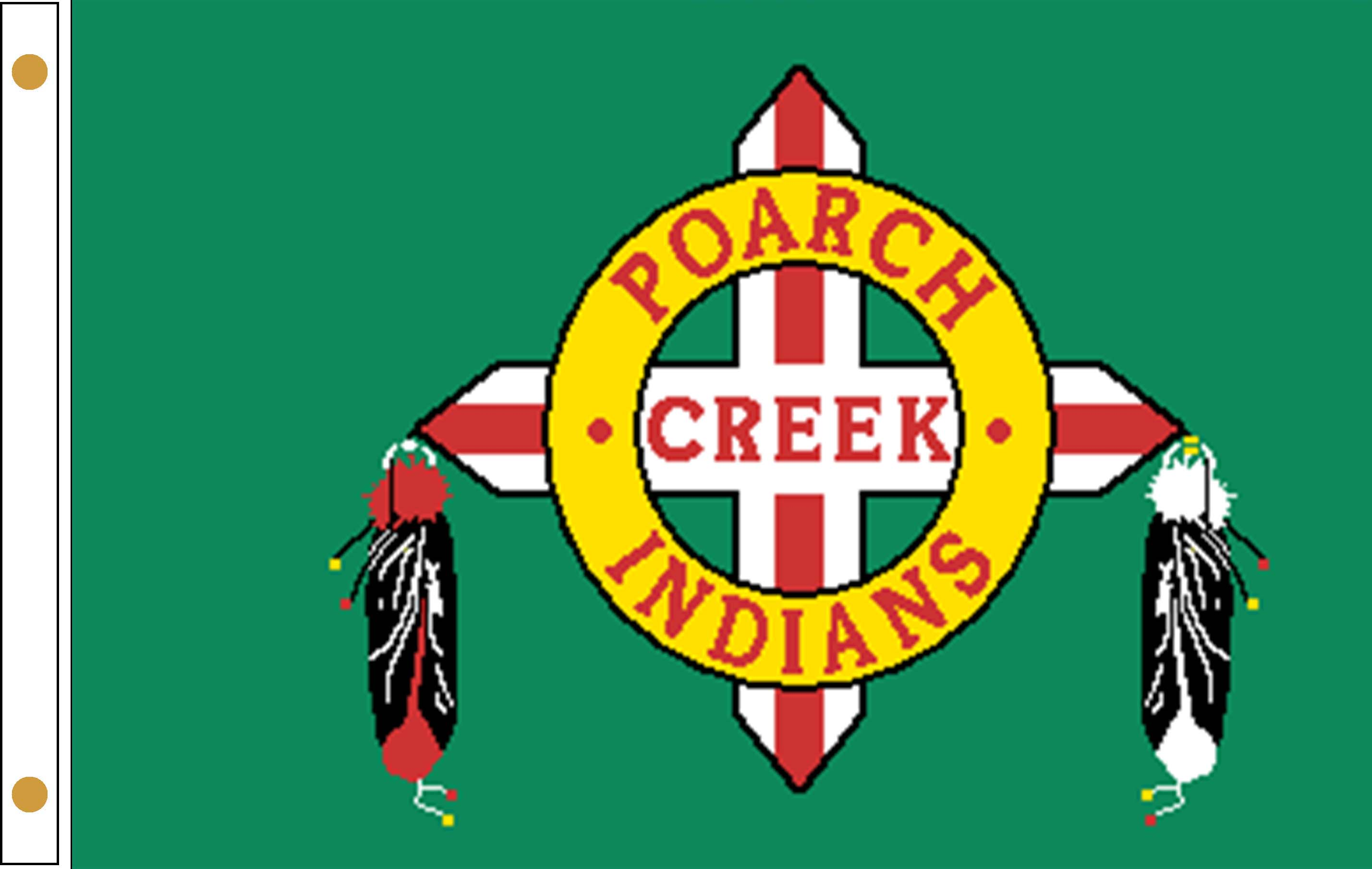 Poarch Band of Creek Indians Flags