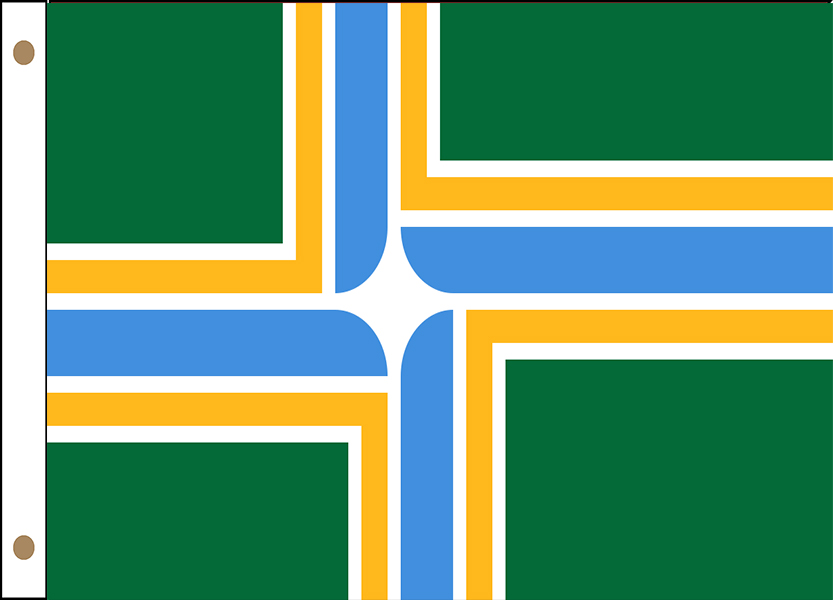 Portland Oregon Flags