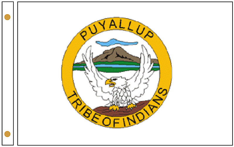 Puyallup Tribe Flags