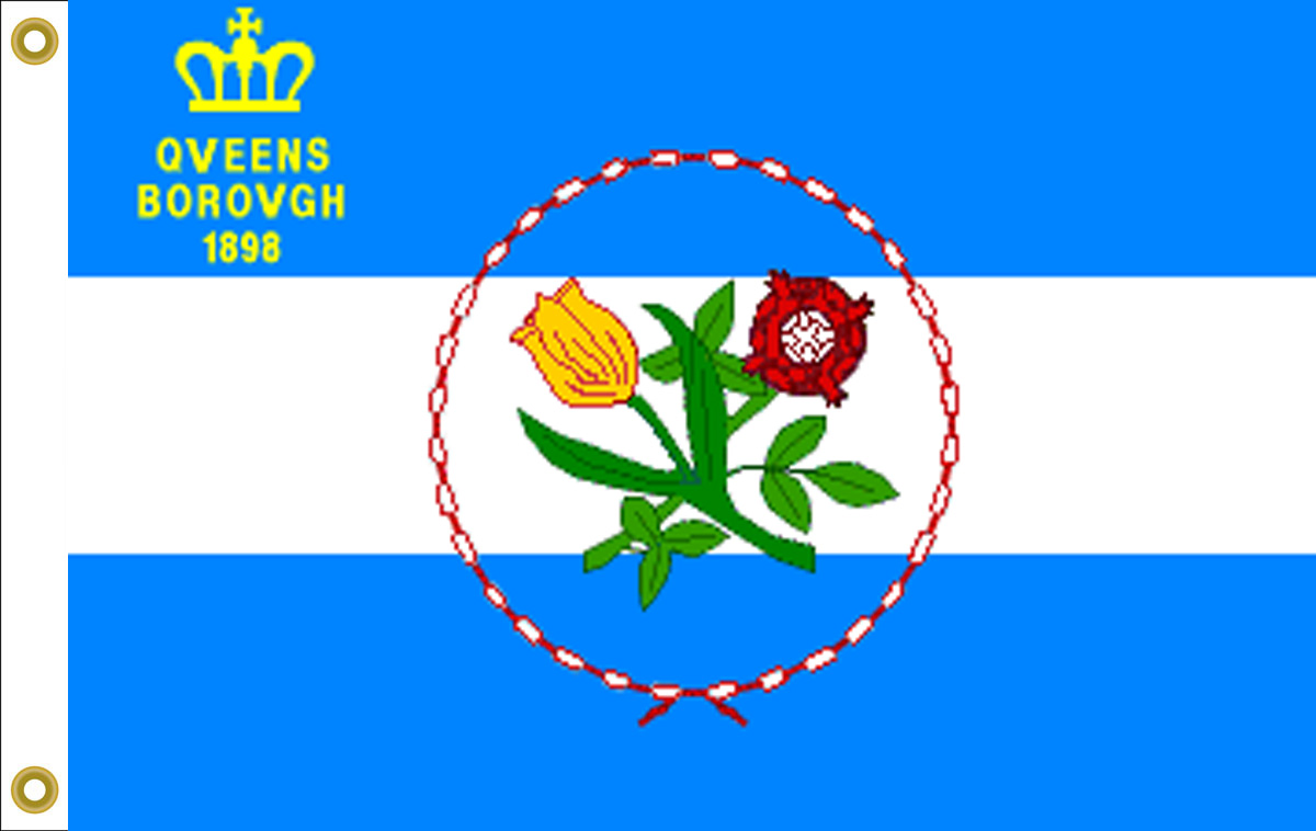 Queens New York Flags