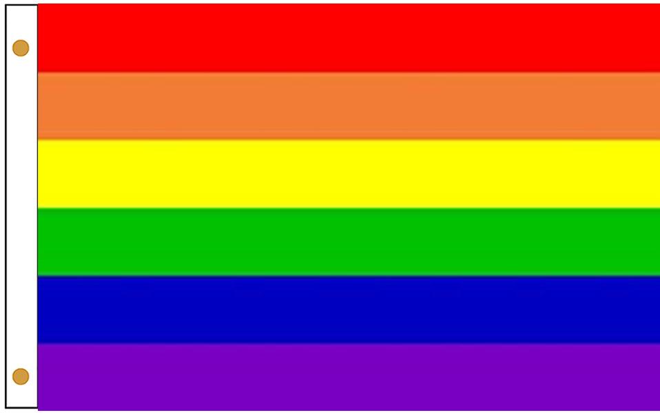 Rainbow Outdoor Flags