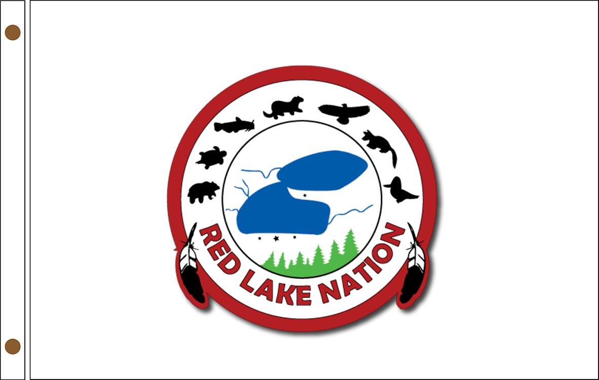 Red Lake Ojibwe Tribe Flags