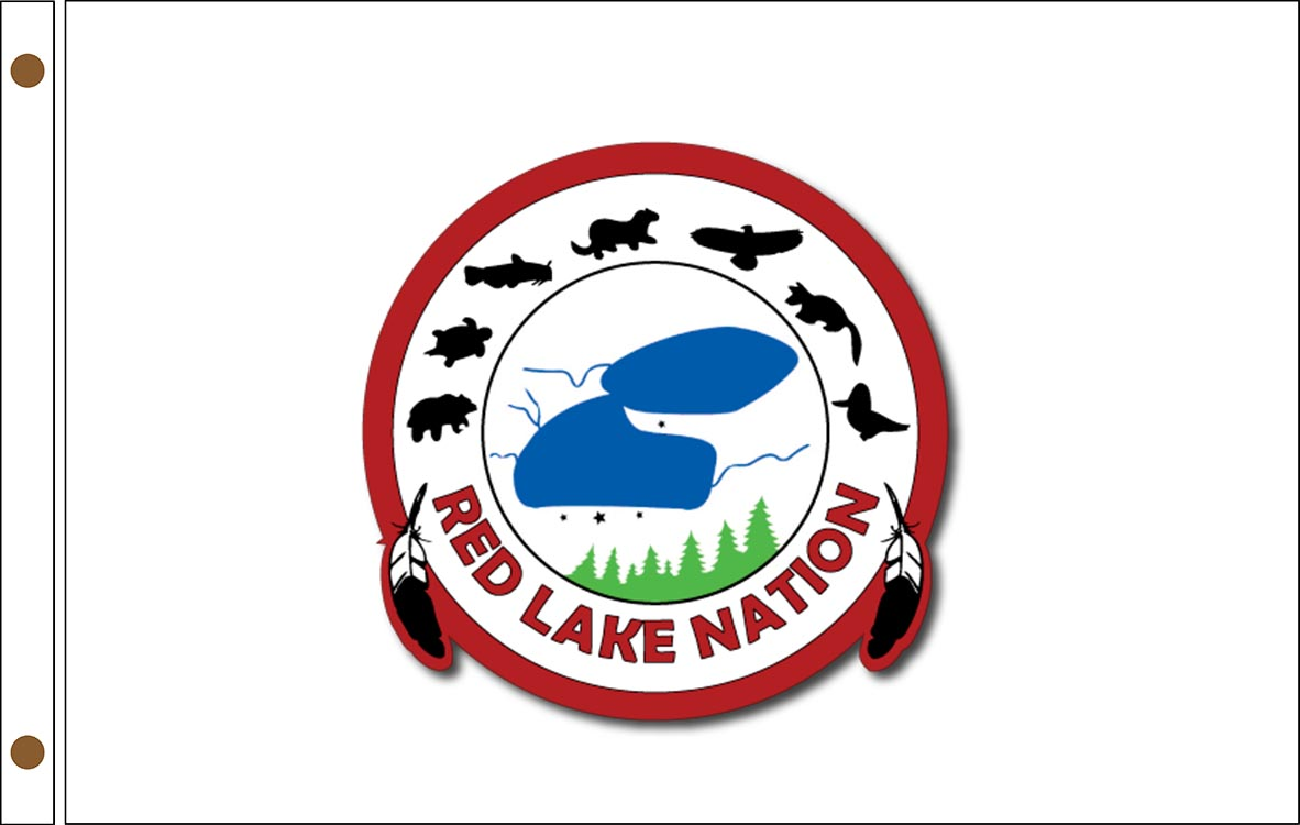 Red Lake Ojibwe Tribe Flags