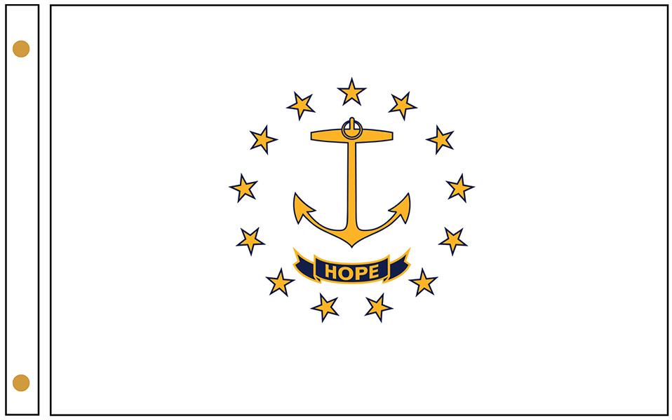 Rhode Island State Flags