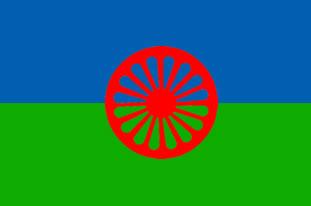 Roma Gypsy Flags