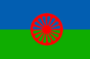 Roma Gypsy Flags