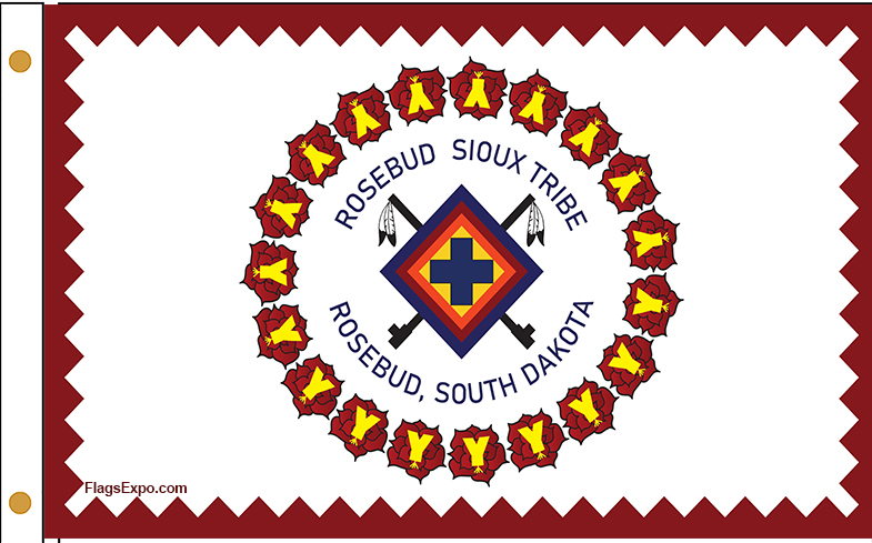 Rosebud Sioux Nation Flags