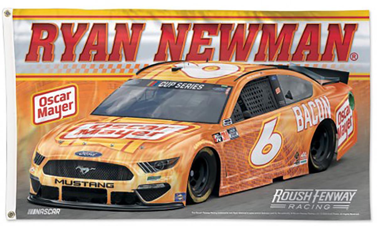 Ryan Newman NASCAR Flags