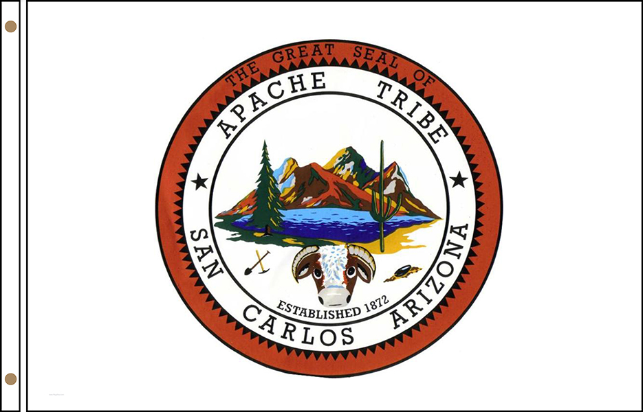 San Carlos Apache Tribe Flags